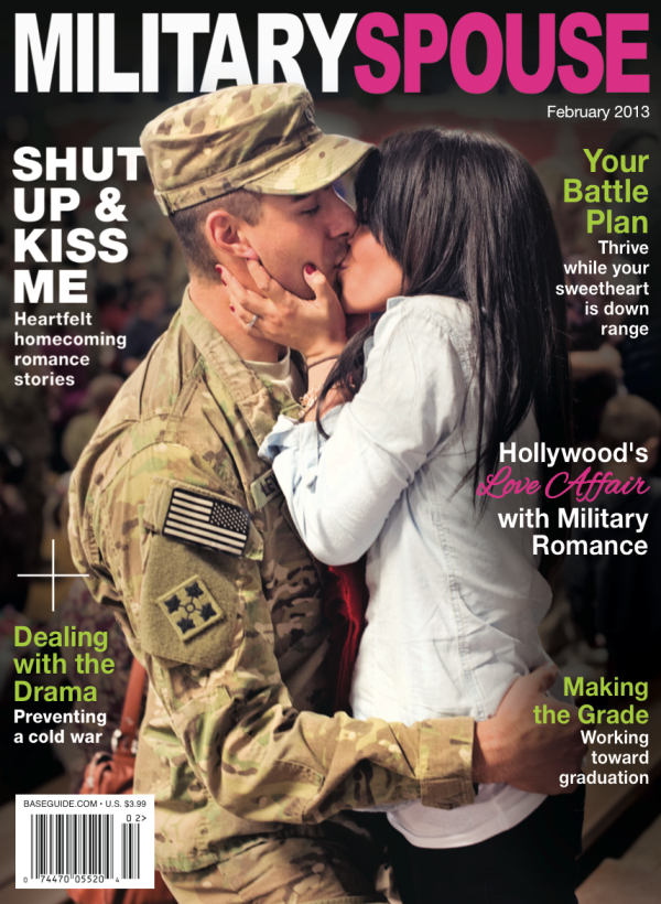 Don't forget to look for my March column, where I'll explain why I CAN'T WAIT for my next military move!