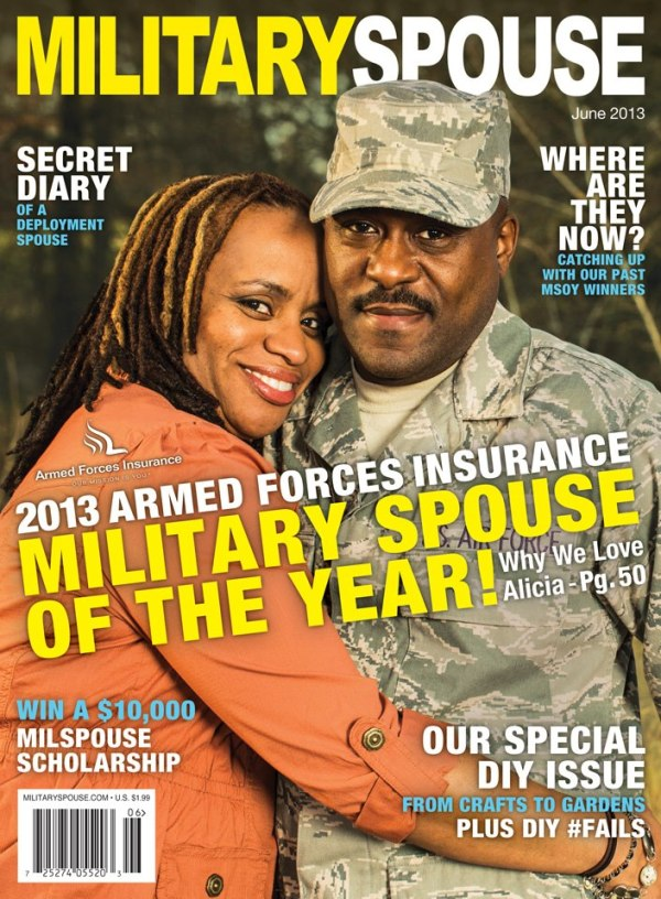 Pick up your own copy of Military Spouse Magazine today!