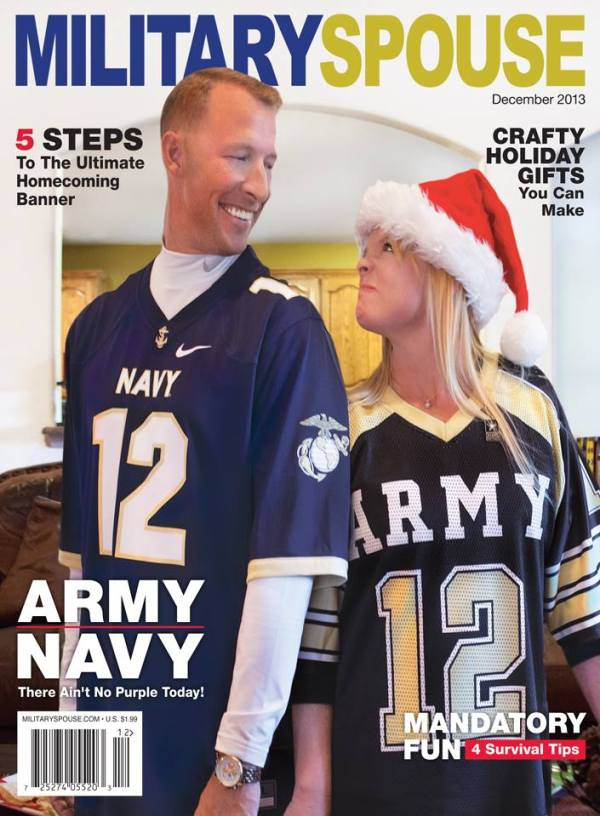 This column was published in the December Issue of Military Spouse Magazine!